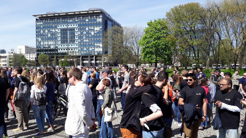 marsz ludzie